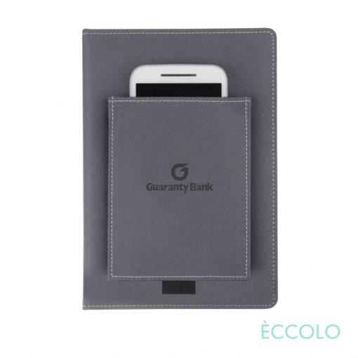 """Eccolo® Austin Journal - (M) 6""""x8"""" Gray"""