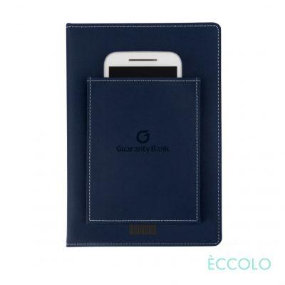"Eccolo® Austin Journal - (M) 6""x8"" Navy Blue"