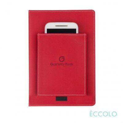 "Eccolo® Austin Journal - (M) 6""x8"" Red"