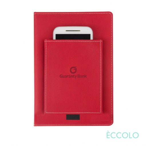 "Eccolo® Austin Journal - (M) 6""x8"" Red"