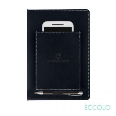 Eccolo® Austin Journal/Clicker Pen - (M) Black