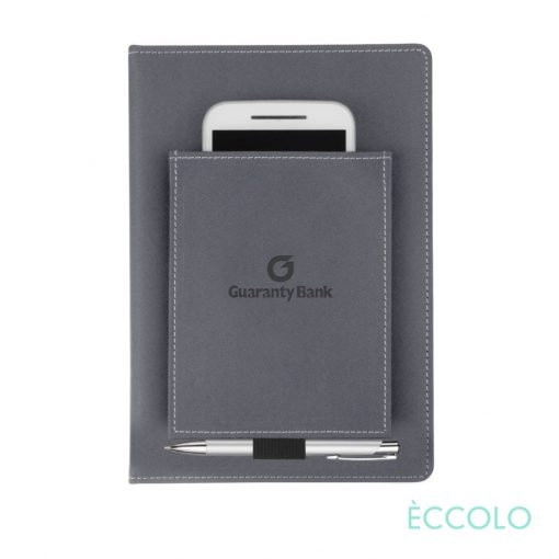 Eccolo® Austin Journal/Clicker Pen - (M) Gray