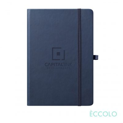 "Eccolo® Cool Journal - (M) 5¾""x8¼"" Navy Blue"