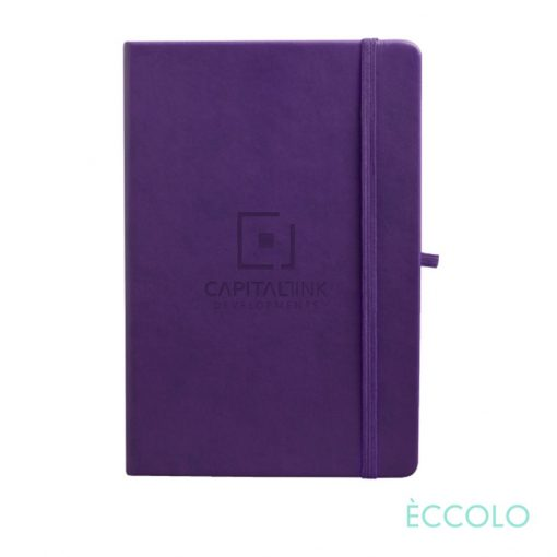 "Eccolo® Cool Journal - (M) 5¾""x8¼"" Purple"