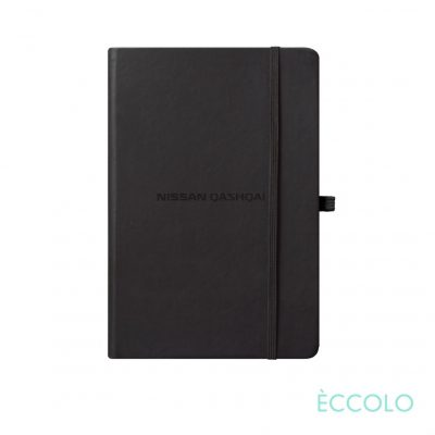 "Eccolo® Cool Journal - (S) 3½""x5½"" Black"