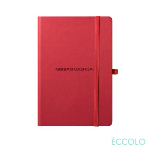 """Eccolo® Cool Journal - (S) 3½""""x5½"""" Red"""
