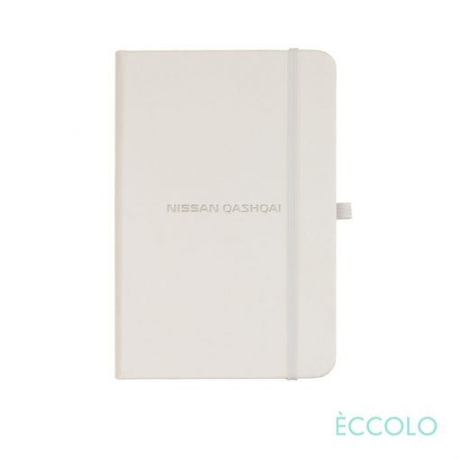 "Eccolo® Cool Journal - (S) 3½""x5½"" White"