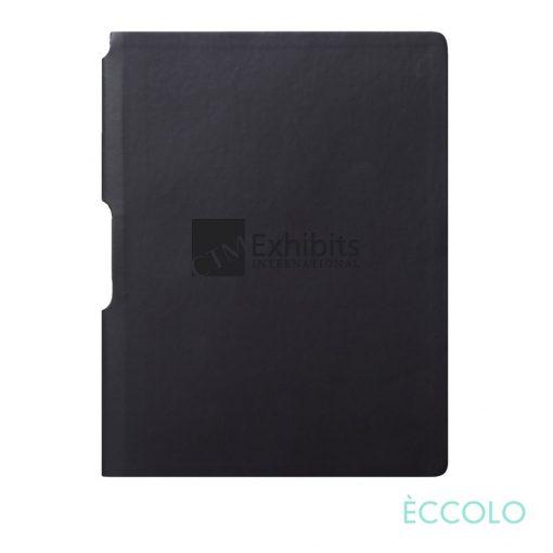 "Eccolo® Groove Journal - (M) 5¾""x8¼"" Black"