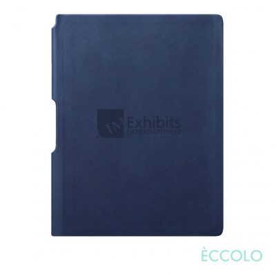 "Eccolo® Groove Journal - (M) 5¾""x8¼"" Navy Blue"