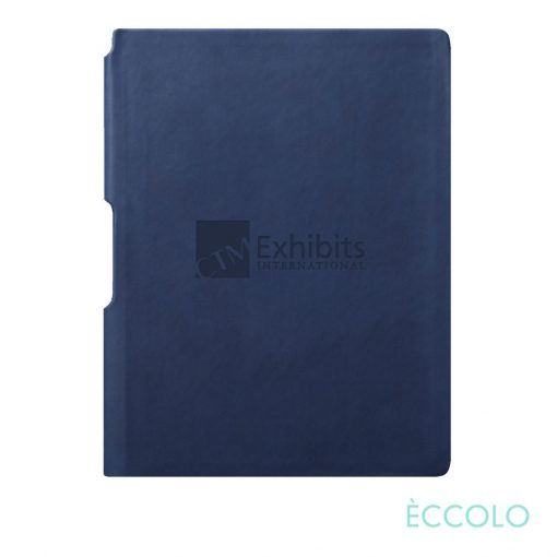 """Eccolo® Groove Journal - (M) 5¾""""x8¼"""" Navy Blue"""