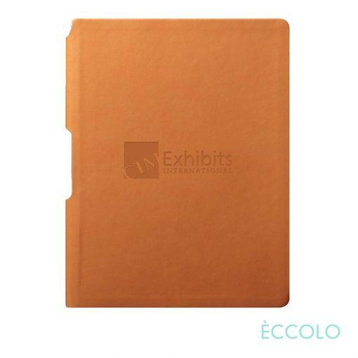 "Eccolo® Groove Journal - (M) 5¾""x8¼"" Orange"