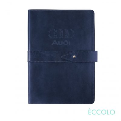 "Eccolo® Legend Journal - (M) 5½""x8¼"" Navy Blue"