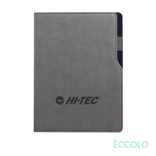 "Eccolo® Mambo Journal - (M) 6""x8¼"" Black"
