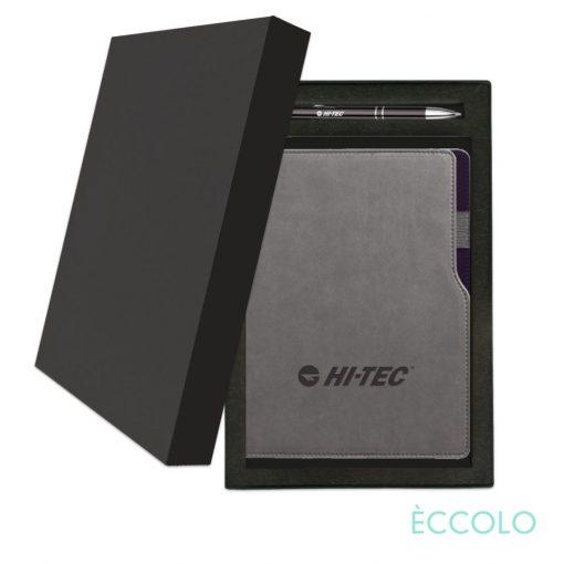 Eccolo® Mambo Journal/Clicker Pen Gift Set - (M) Black