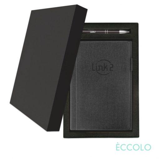 Eccolo® Nashville Journal/Clicker Pen Gift Set - (M) Black