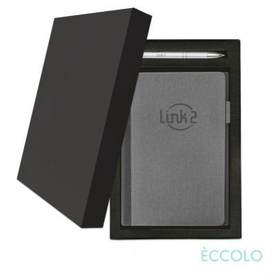 Eccolo® Nashville Journal/Clicker Pen Gift Set - (M) Gray