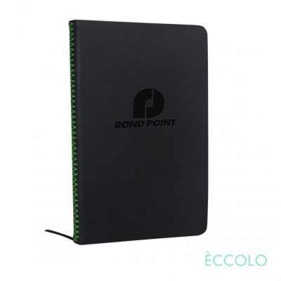 "Eccolo® New Wave Journal - (M) 5¾""x8¼"" Green"