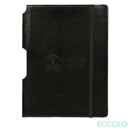 """Eccolo® Rhythm Journal - (L) 7""""x9¾"""" Black"""