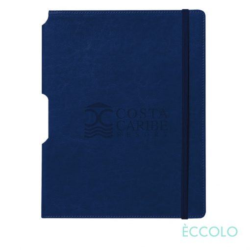 "Eccolo® Rhythm Journal - (L) 7""x9¾"" Navy Blue"