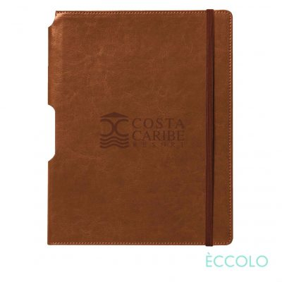"Eccolo® Rhythm Journal - (L) 7""x9¾"" Tan"