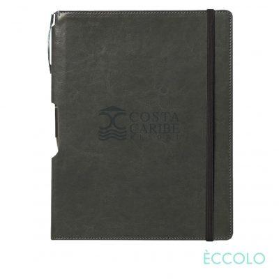Eccolo® Rhythm Journal/Clicker Pen - (L) Gray