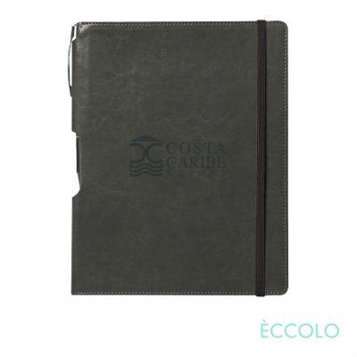 Eccolo® Rhythm Journal/Clicker Pen - (M) Gray