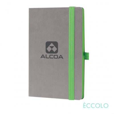 "Eccolo® Salsa Journal - (M) 5½""x8½"" Green"