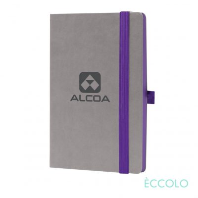 "Eccolo® Salsa Journal - (M) 5½""x8½"" Purple"