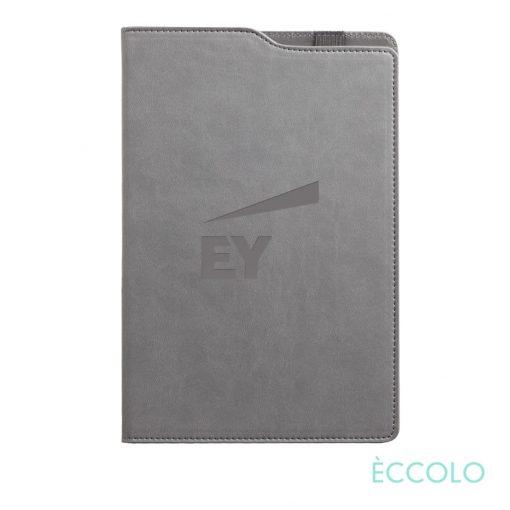 """Eccolo® Soca Journal - (M) 5¾""""x8-5/8"""" Gray"""