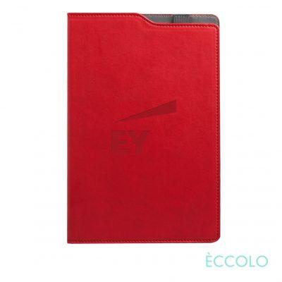 """Eccolo® Soca Journal - (M) 5¾""""x8-5/8"""" Red"""