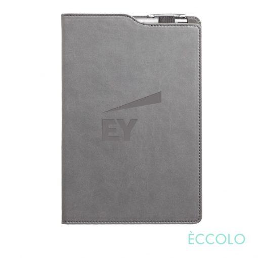 Eccolo® Soca Journal/Clicker Pen - (M) Gray