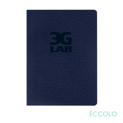 "Eccolo® Solo Journal - (M) 6""x8"" Navy Blue"