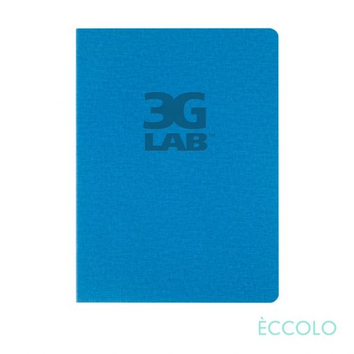 """Eccolo® Solo Journal - (M) 6""""x8"""" Turquoise"""