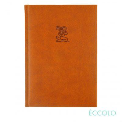 "Eccolo® Symphony Journal - (L) 7""x9¾"" Orange"