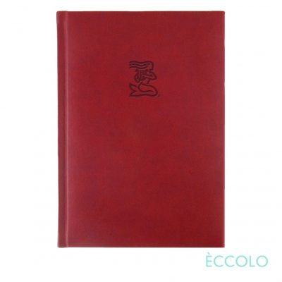 "Eccolo® Symphony Journal - (L) 7""x9¾"" Red"