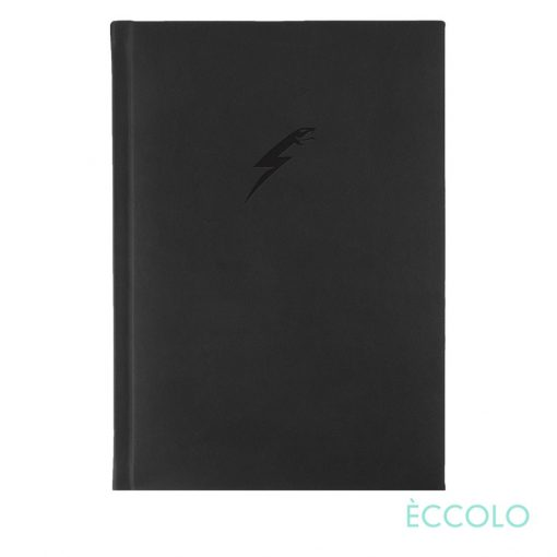 "Eccolo® Symphony Journal - (M) 5¾""x8¼"" Black"
