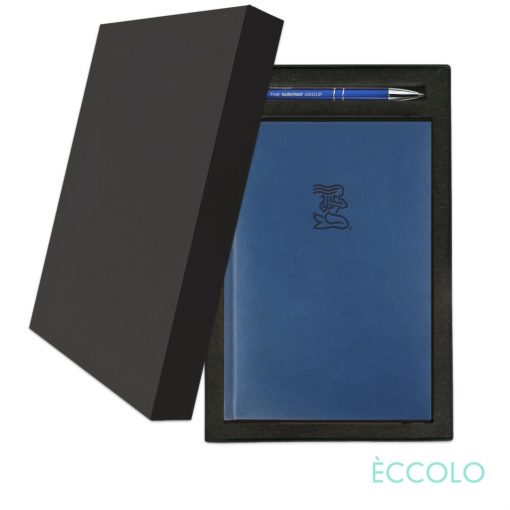Eccolo® Symphony Journal/Clicker Pen Gift Set - (M) Blue