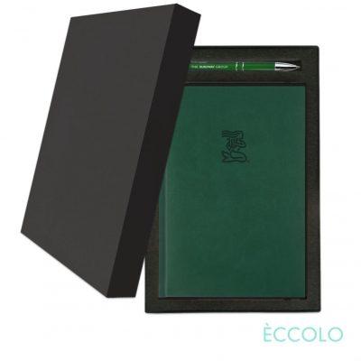 Eccolo® Symphony Journal/Clicker Pen Gift Set - (M) Green
