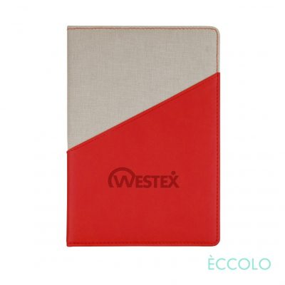 "Eccolo® Tango Journal - (M) 6""x8"" Red"
