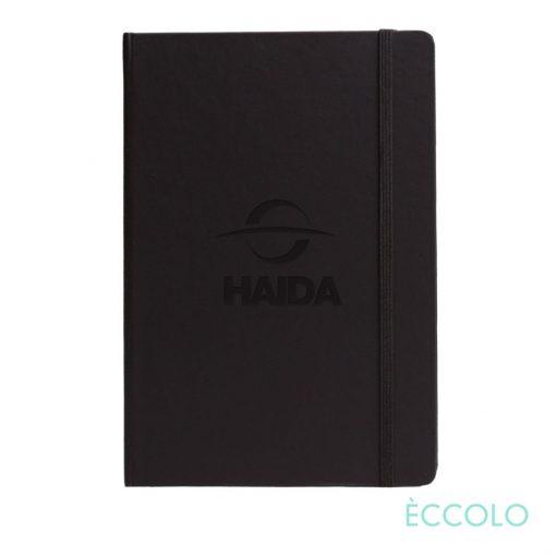 """Eccolo® Techno Journal - (M) 5½""""x8¼"""" Black"""
