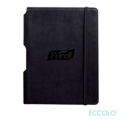 """Eccolo® Tempo Journal - (M) 5¾""""x8¼"""" Black"""