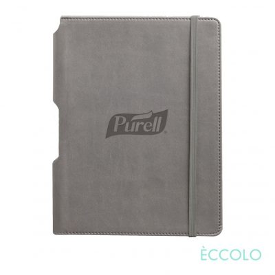 "Eccolo® Tempo Journal - (M) 5¾""x8¼"" Gray"