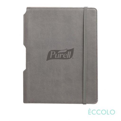 """Eccolo® Tempo Journal - (M) 5¾""""x8¼"""" Gray"""