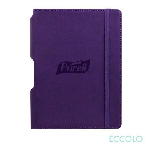 """Eccolo® Tempo Journal - (M) 5¾""""x8¼"""" Purple"""