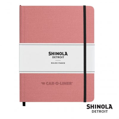 "Shinola® HardCover Journal - (L) 7""x9"" Blush Pink"