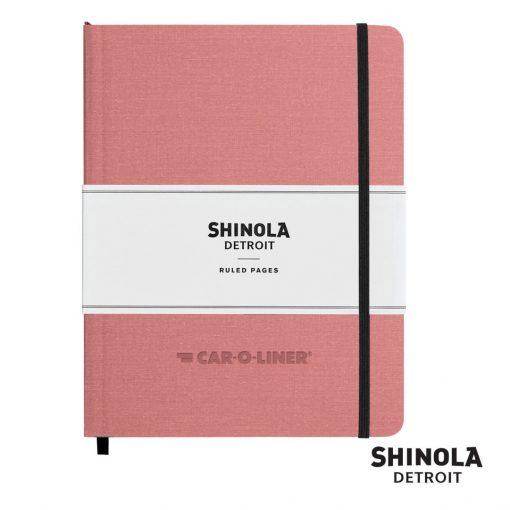 """Shinola® HardCover Journal - (L) 7""""x9"""" Blush Pink"""