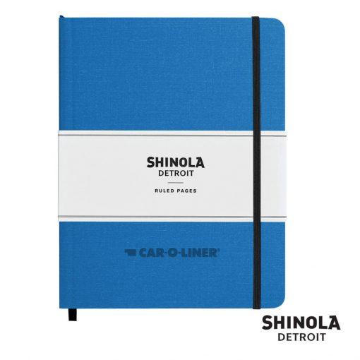 "Shinola® HardCover Journal - (L) 7""x9"" Cobalt Blue"