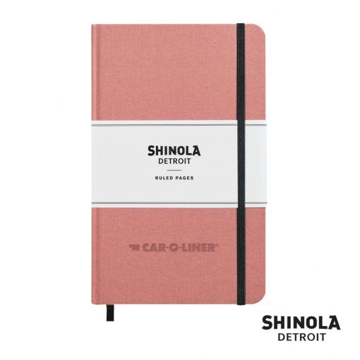 "Shinola® HardCover Journal - (M) 5¼""x8¼"" Blush Pink"