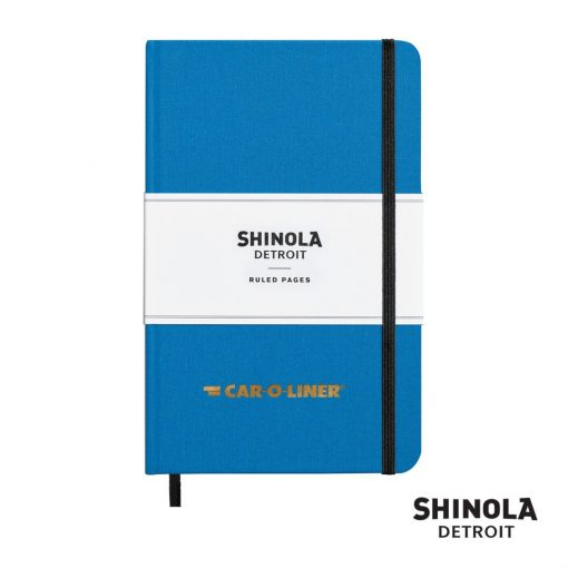 "Shinola® HardCover Journal - (M) 5¼""x8¼"" Cobalt Blue"