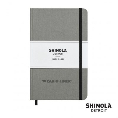 "Shinola® HardCover Journal - (M) 5¼""x8¼"" Light Gray"